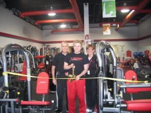 Gym opening